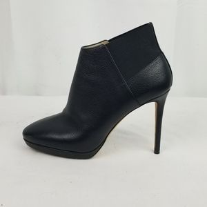 Jimmy Choo Leather Ankle Booties Heels size 38